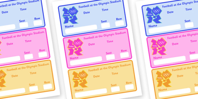 The Olympics Football Event Tickets - Football, Olympics, Olympic Games, sports, Olympic, London, 2012, event, ticket, tickets, entry, stadium, activity, Olympic torch, events, flag, countries, medal, Olympic Rings, mascots, flame, compete