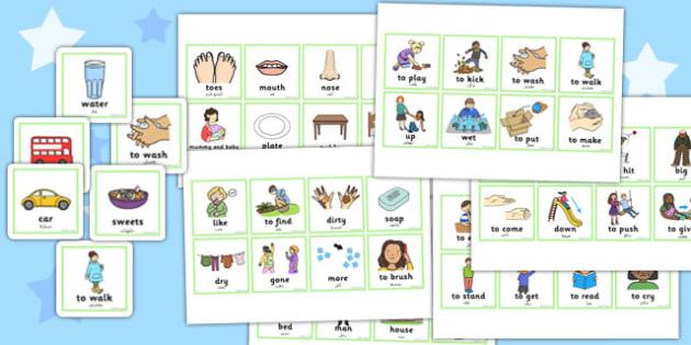 First Word Cards Arabic Translation - arabic, first word, cards, first, word