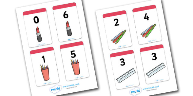 Number Bonds to 6 Matching Cards (Everyday Items) - Number Bonds, Matching Cards, Everyday Item Cards, Number Bonds to 6