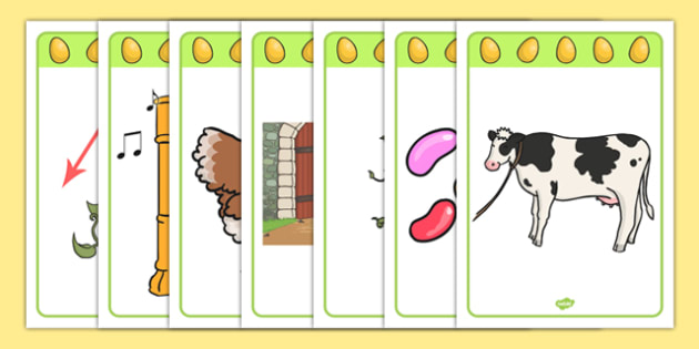Jack and The Beanstalk Voice Sounds Resource Pack - phonics, phase 1, voice sounds, aspect 6, traditional tales,