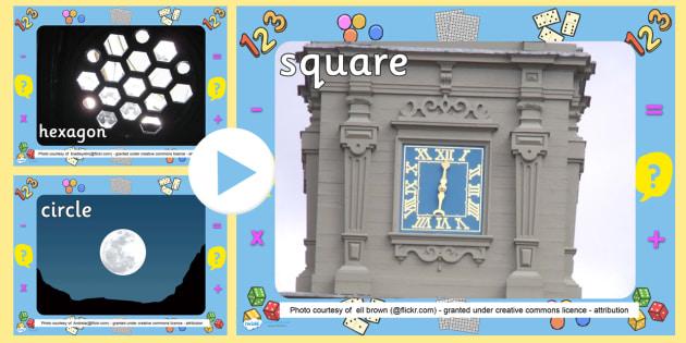 2D Shapes Photo PowerPoint - shapes, 2d shapes, shapes powerpoint, 2d shapes powerpoint, 2d shapes in every day life, 2d shape photographs, shape photos