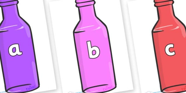 Phase 2 Phonemes on Bottles - Phonemes, phoneme, Phase 2, Phase two, Foundation, Literacy, Letters and Sounds, DfES, display