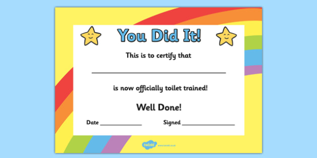 Simple Safety Training Certificate Template
