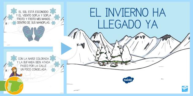 Presentaci n rima sobre el invierno proyecto el invierno - Proyecto el invierno ...