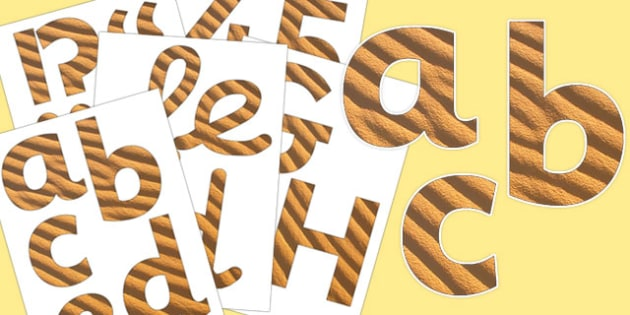 Sand Texture Display Letters and Numbers Pack - display, letters