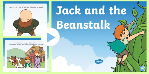 Jack and the Beanstalk Story PowerPoint (teacher made)