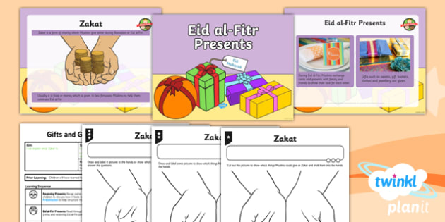 RE: Gifts and Giving: Eid al-Fitr Presents Year 1 Lesson Pack 6