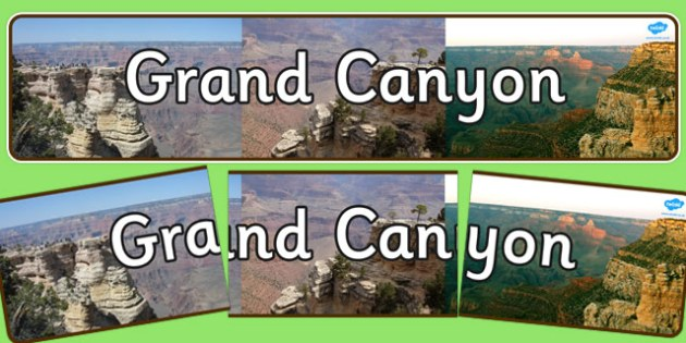 Grand Canyon Display Banner - grand canyon, display banner, display