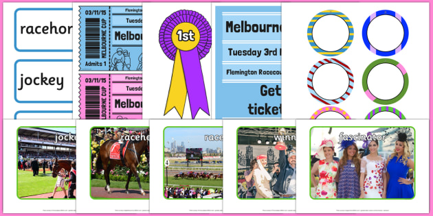The Melbourne Cup Role Play Pack - australia, melbourne cup, role-play, pack