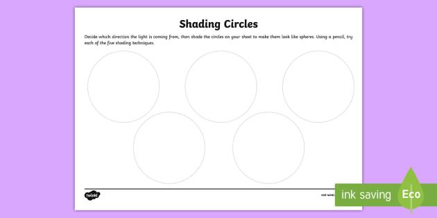 Shading Circles Worksheet / Activity Sheet - KS1 & KS2 Mother\'s