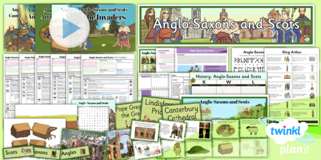 History: Anglo-Saxons and Scots LKS2 Unit Pack
