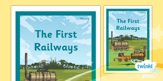 History: The Railways LKS2 Unit Book Cover