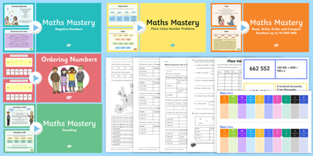Top 10 Year 6 Place Value Resource Pack