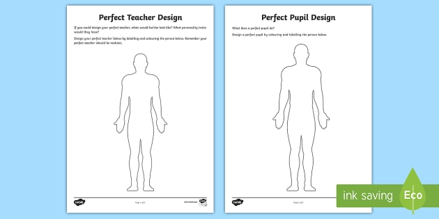 Perfect Pupil and Teacher Worksheet / Worksheets - Perfect ...