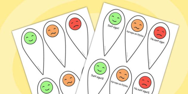Cum mă simt când comunic? - Evantai - fraze, baza, pregatitoare, ajutor