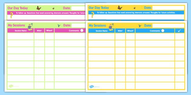 SEN Daily 1 Child Home Educator Planner - sen, educator, home