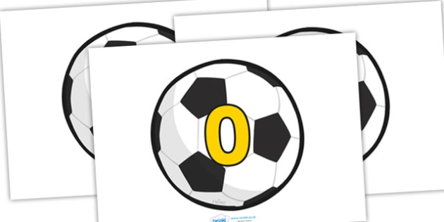 Numbers 0-50 on Footballs (Counting in 5s) - Counting, Balloon, Numberline, Number line, Counting on, Counting back, even numbers, foundation stage numeracy, counting in 2s