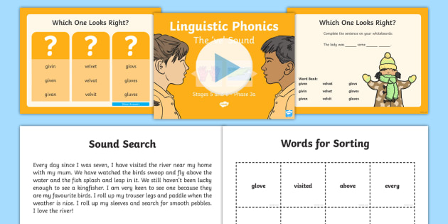 Northern Ireland Linguistic Phonics Stage 5 and 6 Phase 3a, 've' Sound PowerPoint - Linguistic Phonics, Stage 5, Stage 6, Phase 3a, Northern Ireland, 've' sound, sound search, word