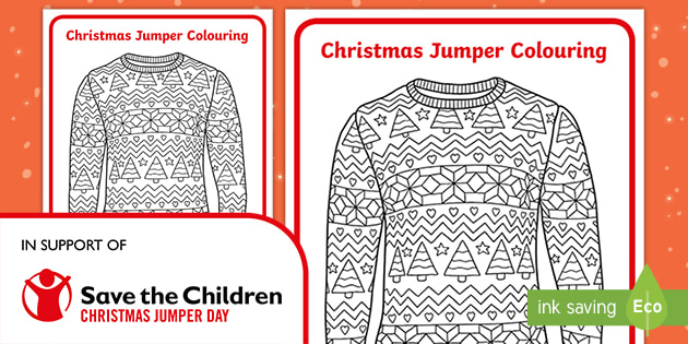 t tp christmas jumper day mindfulness colouring pages ver 3