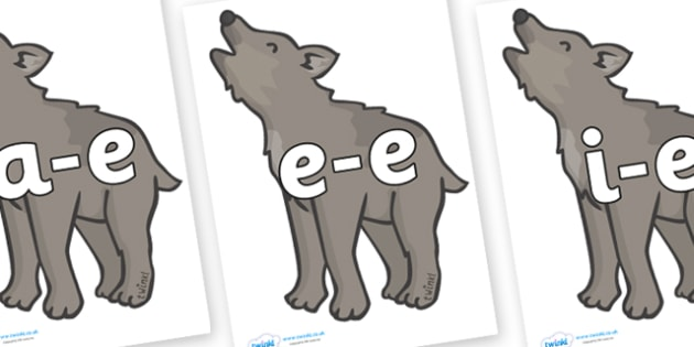 Modifying E Letters on Wolf Cubs - Modifying E, letters, modify, Phase 5, Phase five, alternative spellings for phonemes, DfES letters and Sounds
