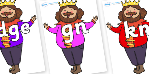 Silent Letters on The Emperors New Clothes Emperor - Silent Letters, silent letter, letter blend, consonant, consonants, digraph, trigraph, A-Z letters, literacy, alphabet, letters, alternative sounds