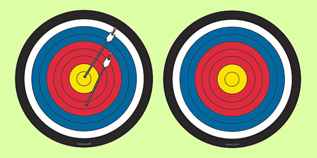 A4 Cut Out Target - A4 Cut Out Target, A4 Cut Outs, Target, Cut Out Target, A4 Targets, Cutouts