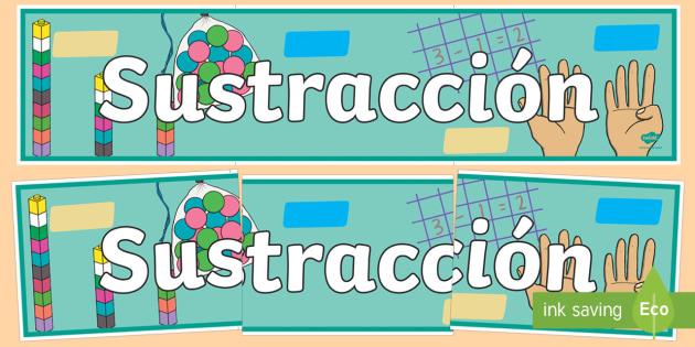 Sustracción Pancarta-Spanish
