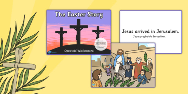 Easter Story Matching Sequencing Cards Polish Translation - polish, Easter Topic, Easter, Happy Easter, easter story, resurrection, Christ, Jesus, sequencing cards, story sequencing, A4, cards, Foundation, KS1, Easter, Easter resource, Easter teachin