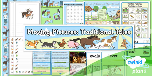 D&T: Moving Pictures: Traditional Tales KS1 Additional Resources