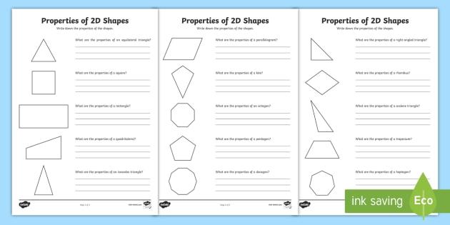 year 5 properties of 2d shapes worksheet worksheet pack activity sheets. Black Bedroom Furniture Sets. Home Design Ideas
