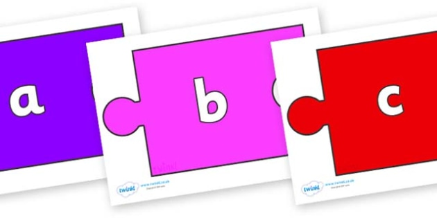 Phase 2 Phonemes on Jigsaw Pieces - Phonemes, phoneme, Phase 2, Phase two, Foundation, Literacy, Letters and Sounds, DfES, display