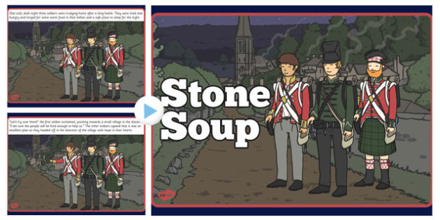 Stone Soup Story PowerPoint - stone soup, story, powerpoint