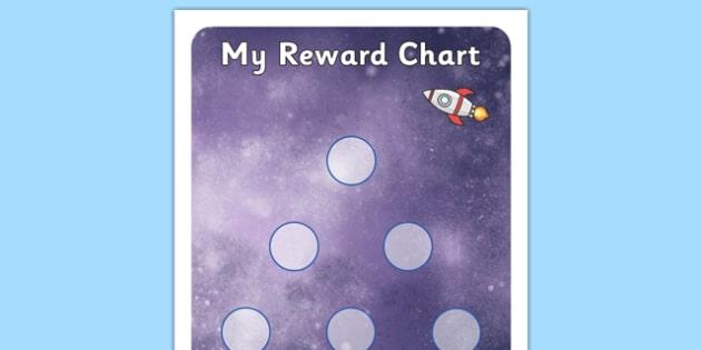 Space Small Sticker Reward Chart - Space Small Sticker Reward Chart, sticker, stickers, chart, sticker chart, reward, award, space, pace themed, small, small stickers, reward chart