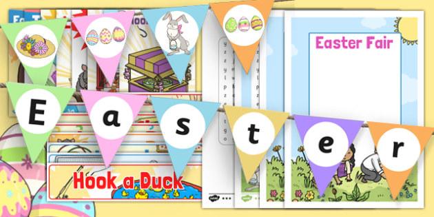 Easter Fair Resource Pack - easter fair, easter fayre, fair, fayre, easter, resource pack