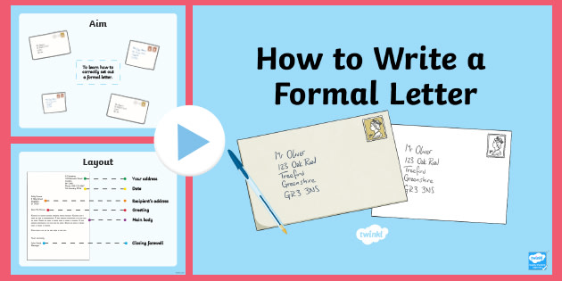 What Is Letter Writing And Its Types from images.twinkl.co.uk