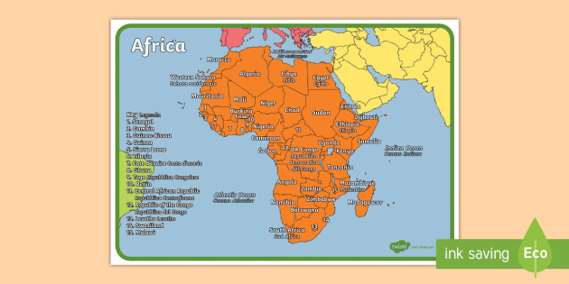 Geography continents of the world africa display poster geography continents of the world africa display poster englishitalian ks1 geography gumiabroncs Image collections