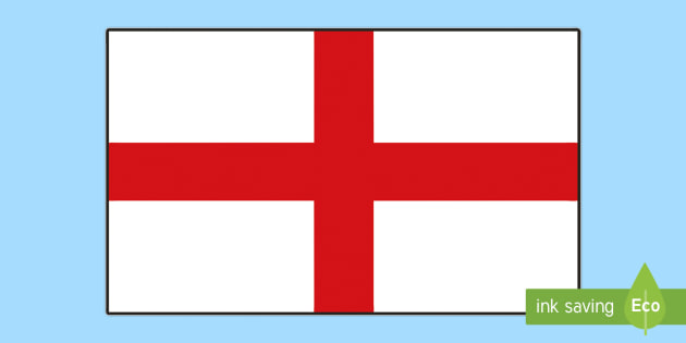 England Flag Display Poster Teacher Made