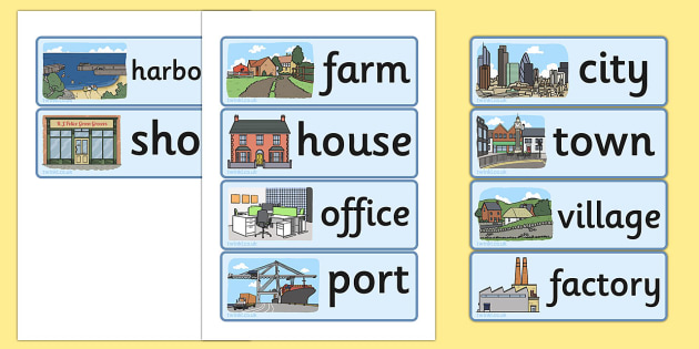 Human Geography Word Cards - geography, human, word cards, cards