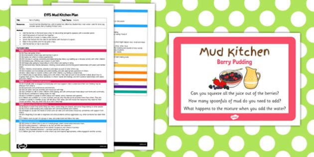 Mud Kitchen Ideas Eyfs.Berry Pudding Eyfs Mud Kitchen Plan Berry Pudding Eyfs