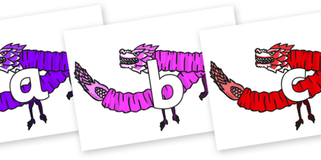 Phoneme Set on Chinese Paper Dragons - Phoneme set, phonemes, phoneme, Letters and Sounds, DfES, display, Phase 1, Phase 2, Phase 3, Phase 5, Foundation, Literacy