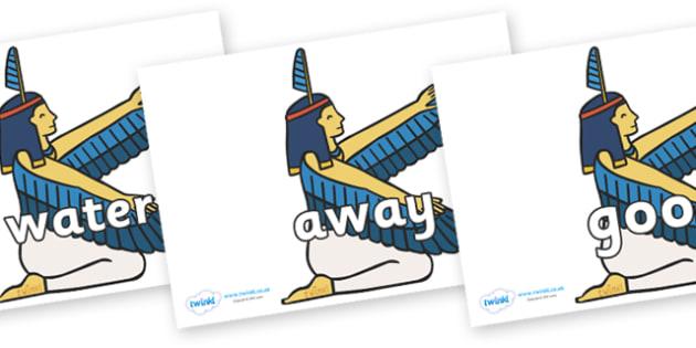 Next 200 Common Words on Egyptian - Next 200 Common Words on  - DfES Letters and Sounds, Letters and Sounds, Letters and sounds words, Common words, 200 common words