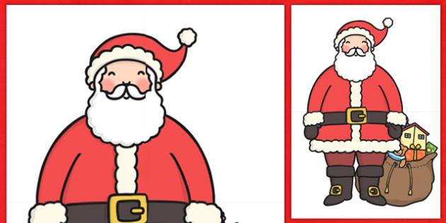 Display Santa Extra Large  - santa, display, christmas, winter