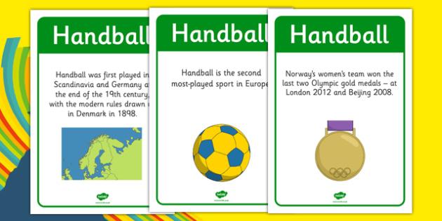 Rio 2016 Olympics Handball Display Facts - rio 2016, 2016 olympics, rio olympics, display facts, display, facts