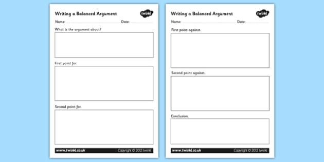 argumentative essay outline worksheet examples of essay outlines ...