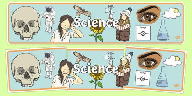 Science Display Banner - science, display banner, display, banner
