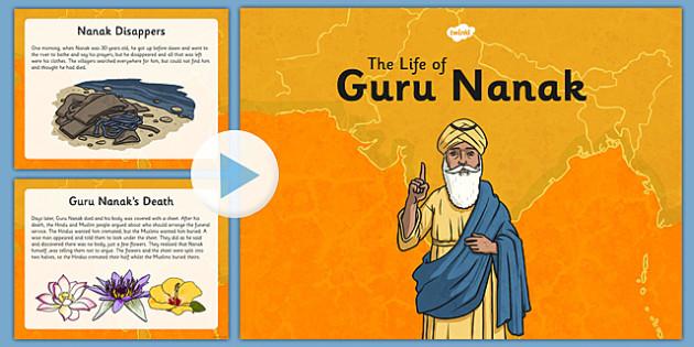 Guru Nanak Information PowerPoint - guru nanak, information, powerpoint