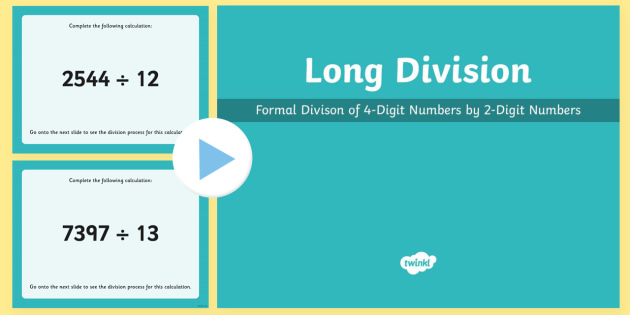 Number_Multiplication and Division, Divide numbers up