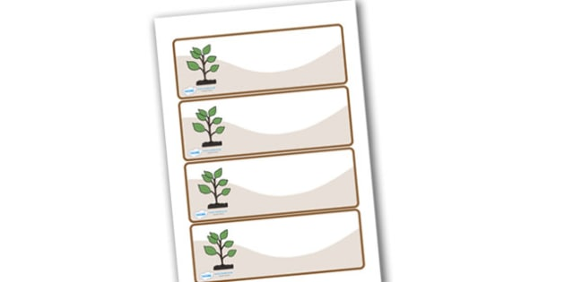Editable Drawer - Peg - Name Labels (Saplings) - Saplings Label Templates, rockets, Resource Labels, Name Labels, Editable Labels, Drawer Labels, Coat Peg Labels, Peg Label, KS1 Labels, Foundation Labels, Foundation Stage Labels, Teaching Labels