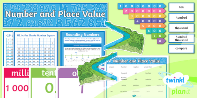 PlanIt Maths Y6 Number and Place Value Display Pack