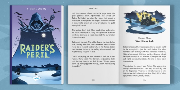 Review Perils Of Reading History >> Ks2 Fantasy Gaming Adventure Ebook Raider S Peril